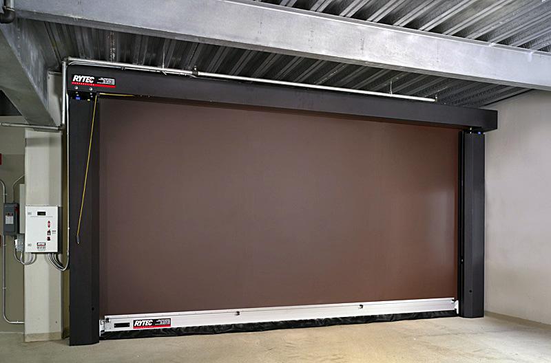 breakaway door rite hite soft breakaway safety high. Black Bedroom Furniture Sets. Home Design Ideas