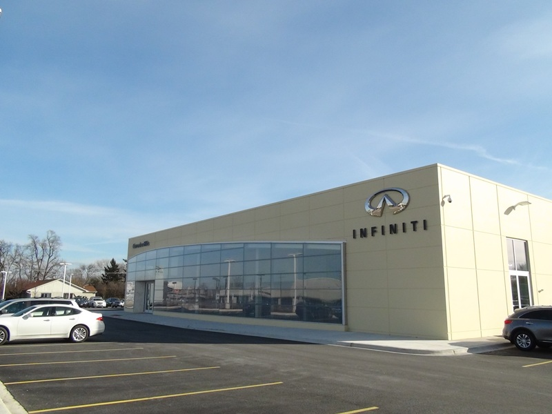 American door and dock industries car dealerships for Plaza motors infiniti service department